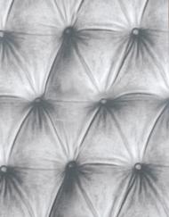 papier peint capitonné gris