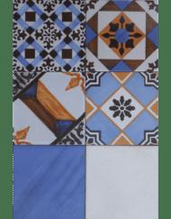 carrelage faience art deco Azul imitation carreau ciment