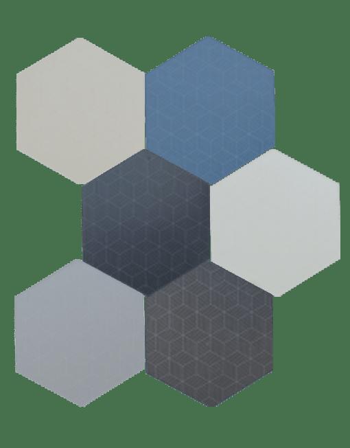 Carrelage Hexagonal Toscana Cubic Artisols - Carrelage hexagonal sol