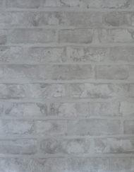 Brique grise, décor de papier peint