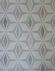 Papier peint décor graphique rétro