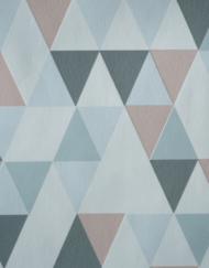 papier peint triangle relief