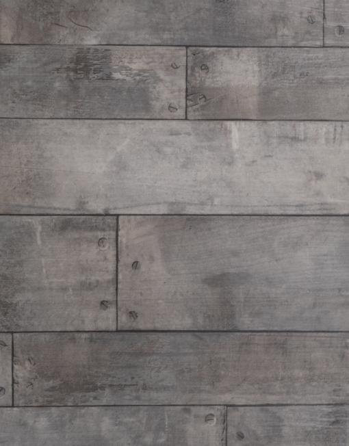 vintage grey sol pvc imitation parquet avec clous. Black Bedroom Furniture Sets. Home Design Ideas
