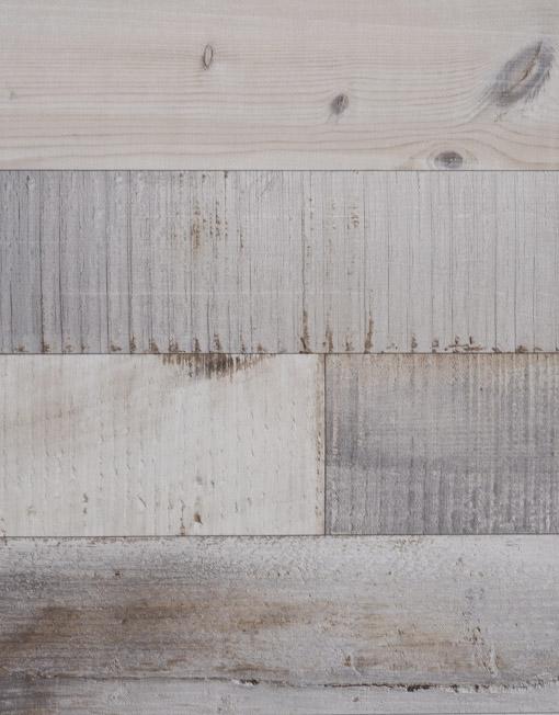 Intisse Bois Horizontal Papier Peint Effet Lambris Horizontal