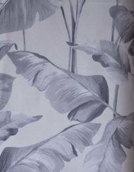 papier peint intisse 219350 gris décor végétal