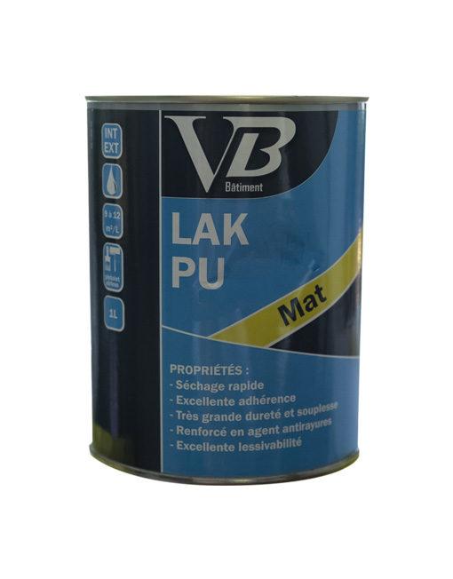 LAK PU mat peinture de décoration à base de résine polyuréthane-acrylique