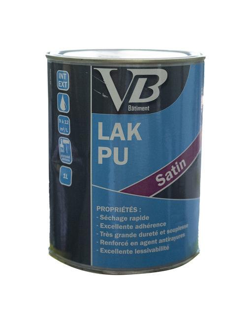 VB Laque PU Satin peinture de décoration à base de résine polyuréthane-acrylique