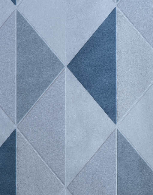 ON3102 losanges bleu gris blanc