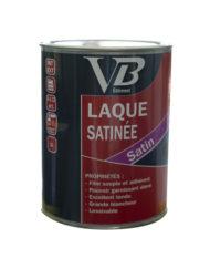 VB laque satinée peinture émail de finition à base de résines glycérophtaliques, d'aspect satiné tenu.